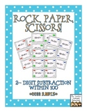 Rock, Paper, Scissors: 2-Digit Mental Subtraction