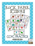 Rock, Paper, Scissors: CCVC Words {Initial Blends}