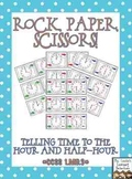 Rock, Paper, Scissors: Telling Time {Bundled}
