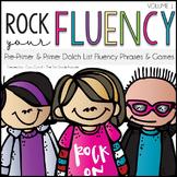 Rock Your Fluency ~ Pre-Primer & Primer Dolch Fluency Phra