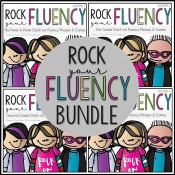 Rock Your Fluency ~ The Ultimate Fluency Bundle!