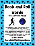 Rock and Roll Words - Literacy Station