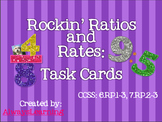 Rockin' Ratios and Rates: Task Cards