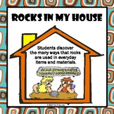 Rocks In My House Worksheet - How Rocks Are Used in Everyd
