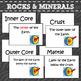 Rocks and Mineral Flash Cards