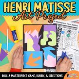 Roll-A-Masterpiece: Henri Matisse Art History Game - Colla