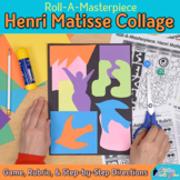 Roll-A-Masterpiece: Henri Matisse Art History Game - Colla