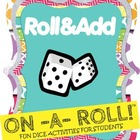 Roll & Add Math Activity