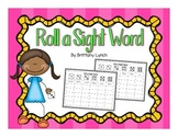 Roll a Sight Word (editable)