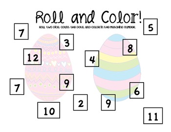 Roll and Color - April