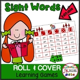 Roll and Cover Sight Word Christmas Games – Elf Surprises!