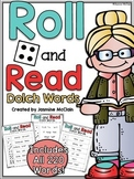 Roll and Read Dolch Words