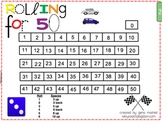 Rolling for 50 - Everyday Math game