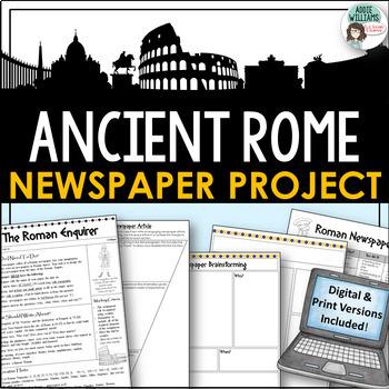 Rome / Roman Empire Newspaper