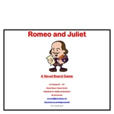 Romeo and Juliet Board Game William Shakespeare
