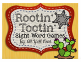 Rootin' Tootin' Sight Words: Created to Align with Reading