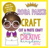 Rosa Parks Black History Craft