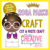 Rosa Parks Black History Craft