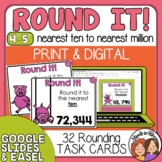 Rounding Task Cards: 32 Cards for Grade 4