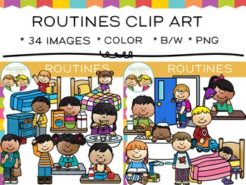 Routines Clip Art