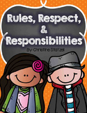 Rules, Respect, & Responsibilities {a back to school unit}