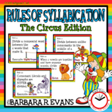 Rules of Syllabication *The Circus Edition*