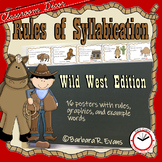 Rules of Syllabication *The Cowboy Edition*