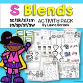 S Blends ~ Activity Pack