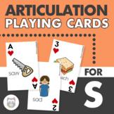 S & Z Articulation Game Card Deck