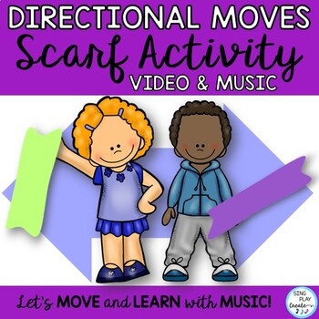 SCARF & RIBBON MOVEMENT ACTIVITIES CC *MATH *PATTERNS *SHA