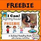 SCHOOL READER FREEBIE! Beginning Reader for Guided Reading {CCSS}