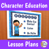 Character Education Courtesy Unit Plan
