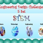 STEM Engineering Design Challenges SET 1