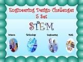 STEM Engineering Design Challenges SET 1