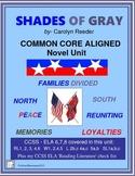 SHADES OF GRAY Novel Study Unit: Common Core Aligned