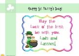 SMART St. Patrick's Day Fun