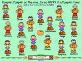 SMARTBoard Attendance - Pumpkin Patch