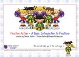 SMARTboard fraction action