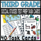 3RD GRADE SOCIAL STUDIES TEST PREP/CLIP TASK/SCOOT GAME
