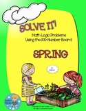 SOLVE IT! Spring Math Logic Problems Using the 100-number Board