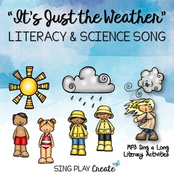 "SONG TO TEACH*WEATHER*SEASONS""It's Just the Weather""*Mp3 T"