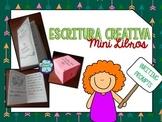SPANISH Creative writing prompts {Image prompts Minibooks