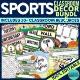 SPORTS Theme EDITABLE Classroom Essentials-34 Printable Pr