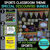 SPORTS Classroom Theme Packet ~ Printable Decor and More