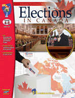 Elections in Canada Gr. 4-8  **Sale Price $11.89  - Regula