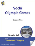 Sochi Olympic Games 2014 Gr. 4-8 Lesson Plan  **Sale Price
