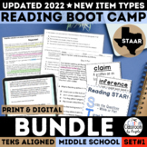 STAAR Reading Boot Camp Bundle