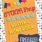 STAAR Writing Weekly Essay Homework FREEBIE