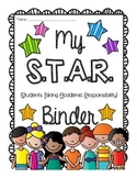 S.T.A.R Binder {Students Take Academic Responsibility} Tak