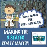 STATES OF MATTER UNIT:  MAKING THE 3 STATES REALLY MATTER!